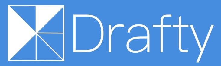 Draftyロゴ(青)